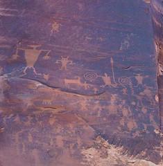 Petroglyphs (ribizlifozelek) Tags: utah ut colorado fremont valley archesnationalpark petroglyph diamondclassphotographer flickrdiamond