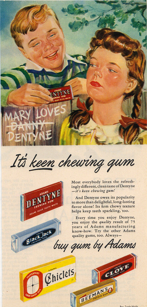 chewing gum research paper Chewing gum is a soft a 1998 paper describes a four-year-old boy being referred with a two-year history of constipation.