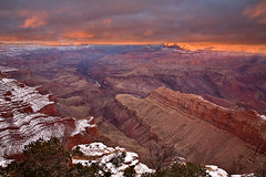 Clearing Storm, Grand Canyon (KPieper) Tags: arizona color clouds sunrise landscape grandcanyon canyon coloradoriver clearingstorm lipanpoint superbmasterpiece betterthangood kevinpieper kpieper pieperphotographynet