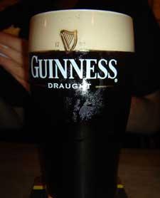 Guinness no Frangó