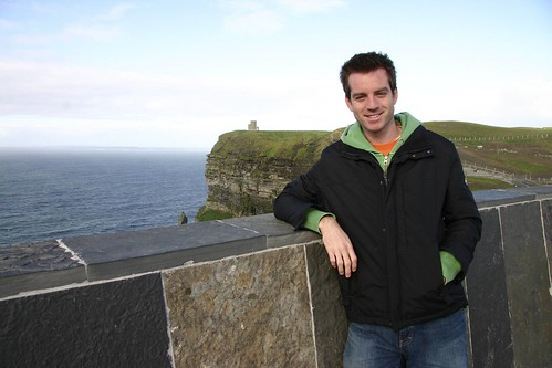 Josh at Cliffs of Moher