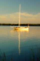 Sunset Dreams (gatorgalpics) Tags: sunset sailboat fl palatka stjohnsriver takeabow mywinners betterthangood