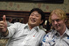with Mr. Gavin King, Victorian Pub The Rose & Crown, Akihabara