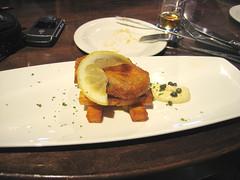 Tempura faux Rockfish at Maggie's