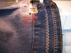 Hemline Stitched Over #2