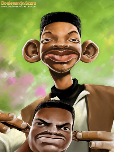 will smith fresh prince of bel air. Will Smith Caricature