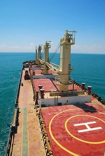 On board a bulker