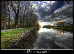 Leuvense vaart, Mechelen - Belgium (Erroba) Tags: blue trees sky sun green water grass clouds photoshop canon reflections canal belgium tripod sigma tips 1020mm erlend soe hdr mechelen blueribbonwinner 3xp photomatix leuvensevaart tonemapped tonemapping 400d mywinners platinumphoto diamondclassphotographer flickrdiamond megashot theunforgettablepictures great123 erroba robaye erlendrobaye