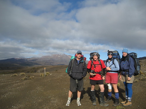 Our hiking friends James, Michelle, Sally