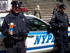 Flat Stanley Has a Run in with the Law