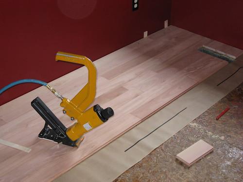 Installing Vida Grandis Eucalyptus Hardwood Flooring Baseball