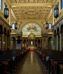 Most Holy Redeemer Catholic Church (Tiz_herself) Tags: nikon catholic michigan detroit churches corktown mostholyredeemer d40x