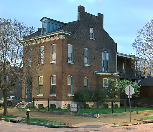 Soulard neighborhood, in Saint Louis, Missouri, USA - building 8