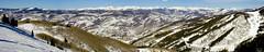 BJ605 Panorama Beaver Creek Skiing (listentoreason) Tags: winter panorama usa mountain snow water america landscape colorado skiing unitedstates scenic favorites places olympus event co beavercreek activity score30 olympusc4040z c4040z