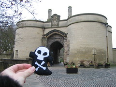 Patrick at Nottingham Castle
