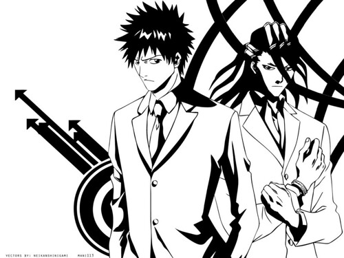 black white wallpapers. Ichigo Black White