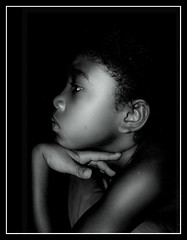 Black Angel I (Pukkamaru / Claudio Uema) Tags: girls portrait bw ava kids nikon august pukka 2007 onblack coolpix8700 nikone8700 bnritratto pukkamaru