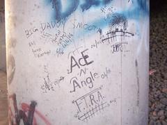 F.T.R.A. (Yardbiird) Tags: train graffiti angle ace n marking freight association riders moniker ftra