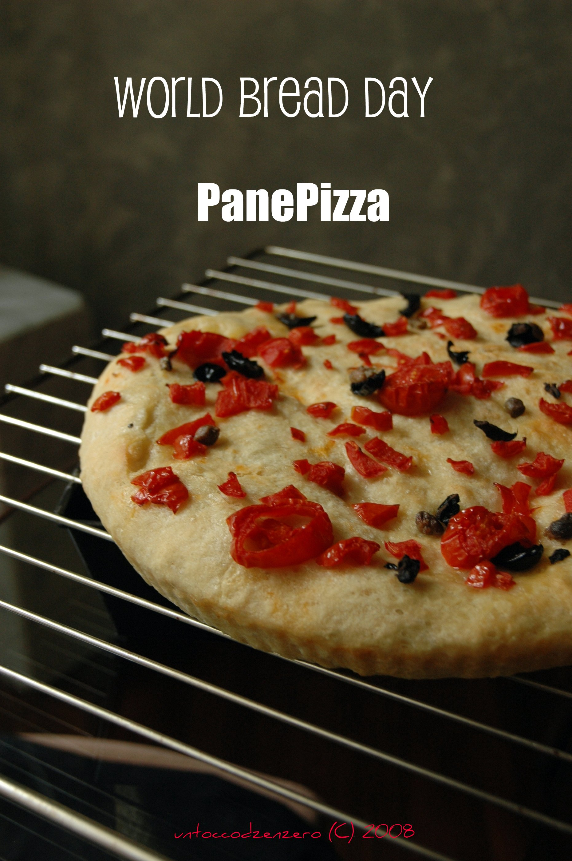World Bread Day.. Panepizza!