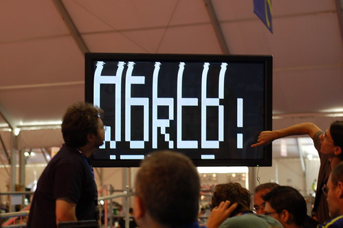 (cc) 2009 by D. Cuartielles, Arduino on TV hack