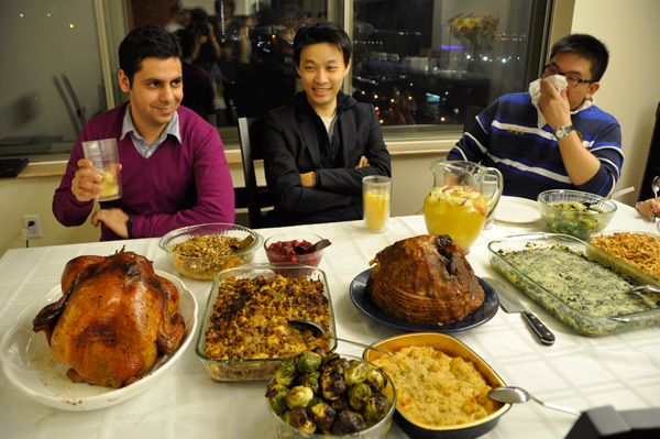 Thanksgiving Dinner, NYC