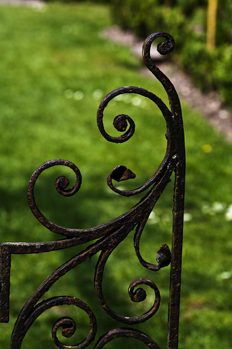 Iron Gate Close Up - Copyright R.Weal 2011