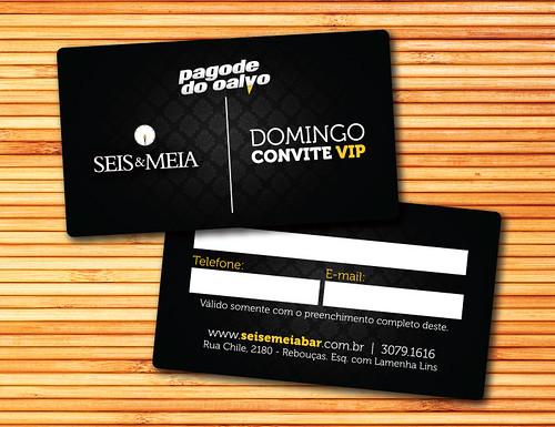 Vip Domingo - Seis & Meia by chambe.com.br