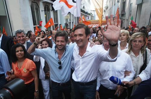 Pedro Passos Coelho Arruada e Comício de Encerramento