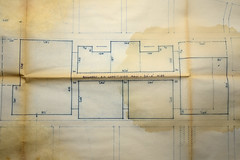 Dixie Square Mall 10/30/63 ([jonrev]) Tags: abandoned mall shopping square design early site illinois ruins map drawing center planning loot harvey concept plans artifact phase dixie rescued alternate 1963 recovered enclosed climatized