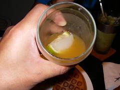 檸檬冰塊加水果茶