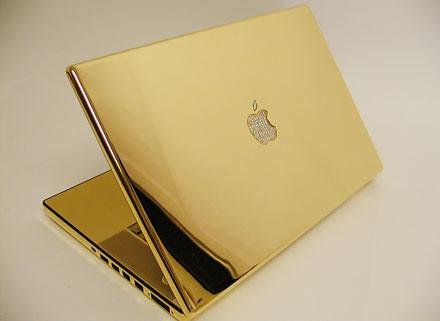 Gold Macbook pro