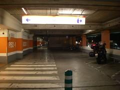 Parque de estacionamento para bicicletas no Oeiras Parque
