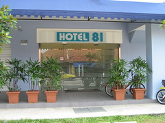 Hotel 81 in Geylang Red Light District