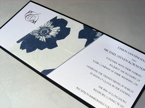 Free Printable Wedding Invitations Blue Borders2
