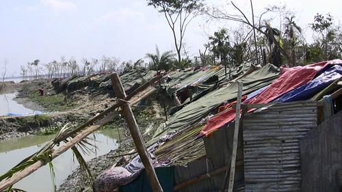 New Slum and Tent Housing