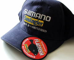 Shimano Mission Accomplished (188/365) (Mags_cat) Tags: baseball cap badge patch plaice missionaccomplished shimano flatfish project365 188365 cellach 4lb1oz seaangler