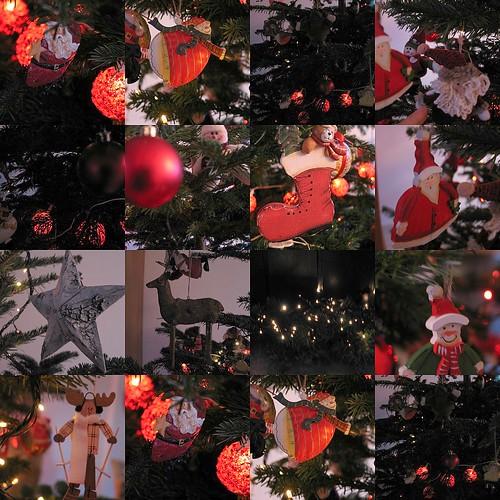 Mosaique Arbre Noel