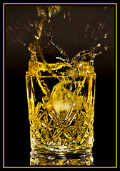 One lump or two...? (pbrian49) Tags: ice glass drink whisky splash  smrgsbord masterclass  blueribbonwinner t189 aplusphoto globalvillage2 superhearts photofaceoffwinner platinumheartaward goldstaraward thechallengefactory