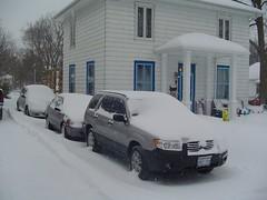 snowed in cars (Paul A.) Tags: windows snow stuck visit etc 2007 scharfe