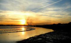 Blazing Clontarf Sunset