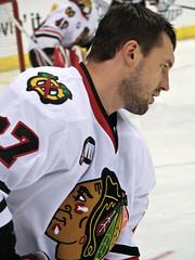(Andrei Zyuzin) (mark6mauno) Tags: chicago hockey nhl losangeles los angeles center national blackhawks staples league staplescenter nationalhockeyleague canonpowershots3is 200708  zyuzin