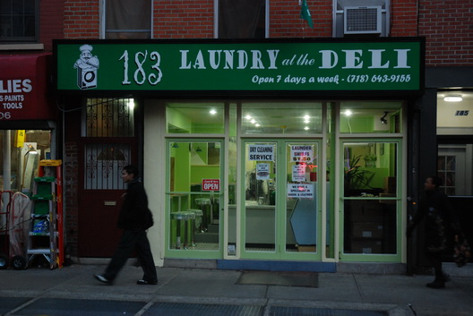 Laundry at the Deli