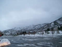 Winter Scene in Sandy, Utah