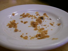 A crumby picture. (JRGuinness) Tags: food austin texas plate indoors