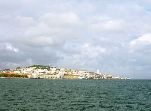 Lisboa desde el Tajo