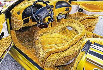 Cool School Bus Interior