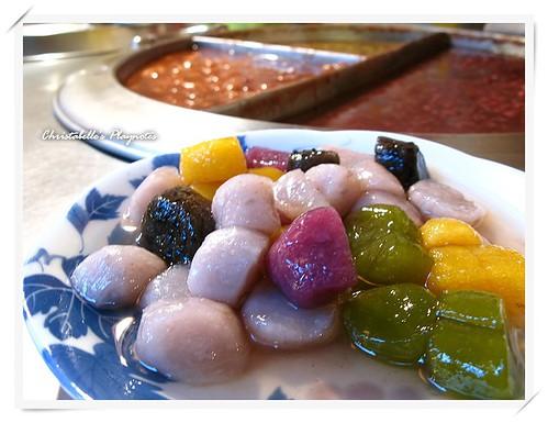 九份賴阿婆芋圓 taro balls: a must-eat in Chiu-Fen