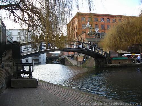 Regent canal at Camden Town