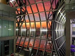 sunset at airport (Z Eduardo...) Tags: sunset people window glass colors architecture reflections thailand airport asia bangkok interior supershot anawesomeshot aplusphoto betterthangood bestcapturesaoi elitegalleryaoi