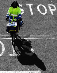 No Stop Can Stop a Postwoman!